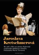 Jaroslava Kretschmerová na zámku